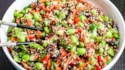 More pictures of Easy Quinoa and Edamame Salad