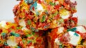 More pictures of Fruity Krispy Treats