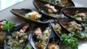 More pictures of Mussels au Gratin