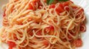More pictures of Tomato and Garlic Pasta