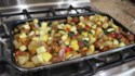 More pictures of Sausage, Shallot, and Squash One-Pan Meal
