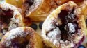 More pictures of Blueberry Popovers