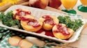 More pictures of Grilled Peaches with Berry Sauce