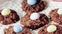 More pictures of Cocoa-Coconut Oatmeal Nests