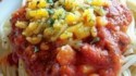 More pictures of Southwestern Corn and Black Bean Spaghetti
