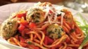 More pictures of Baked Turkey Meatballs and Garden Spaghetti
