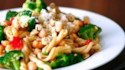 More pictures of Whole Wheat Gemelli with Broccoli, Chickpeas and Hot Pepper Garlic Sauce