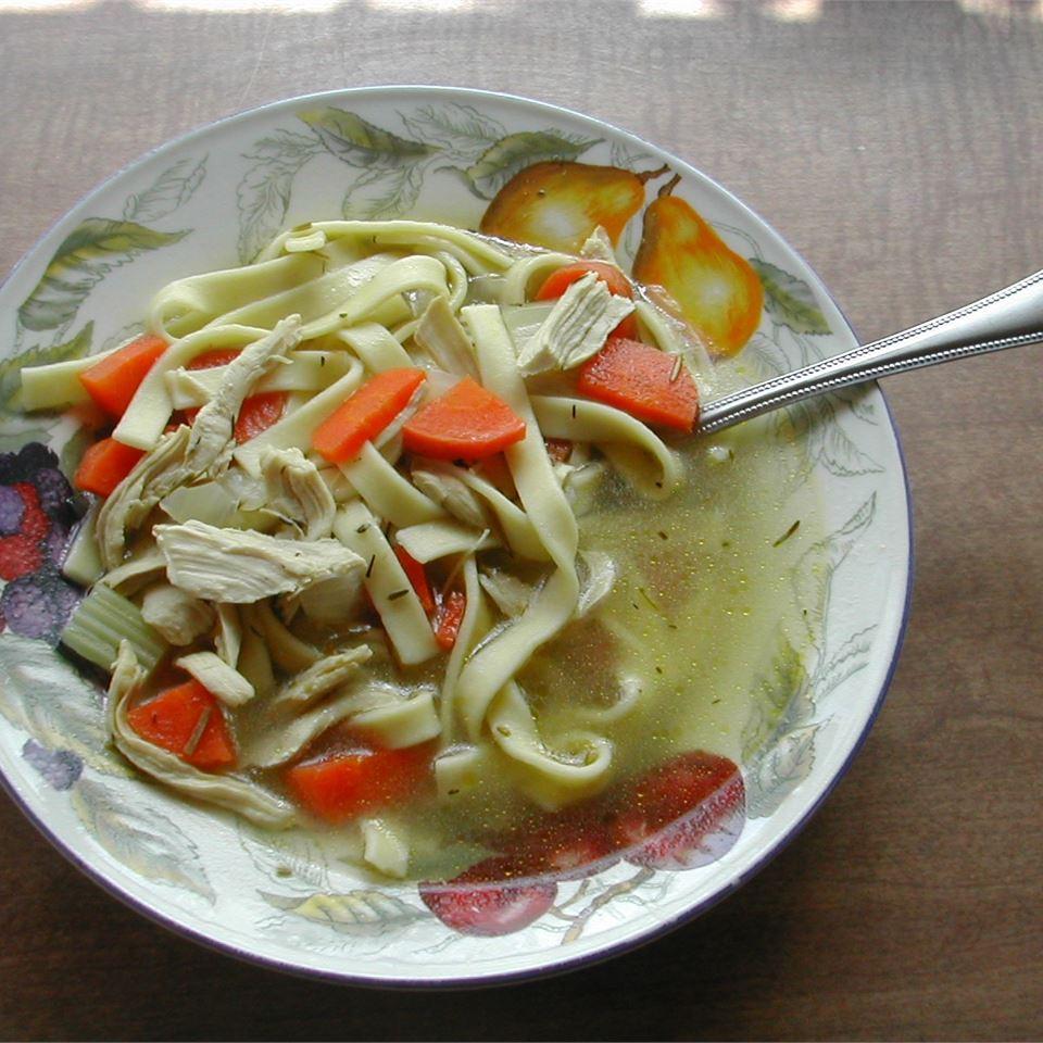 Rosemary Chicken Noodle Soup RACHELMONSON