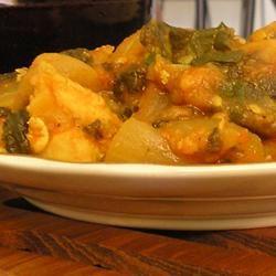 Parsley Spinach Chicken Stew