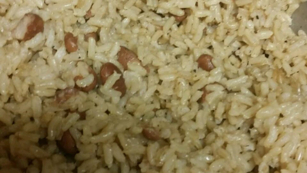Rice Beans Haitian Style Recipe By La La Redcipes