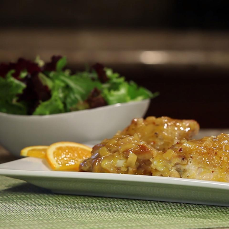 Braised Orange Chicken The Gruntled Gourmand
