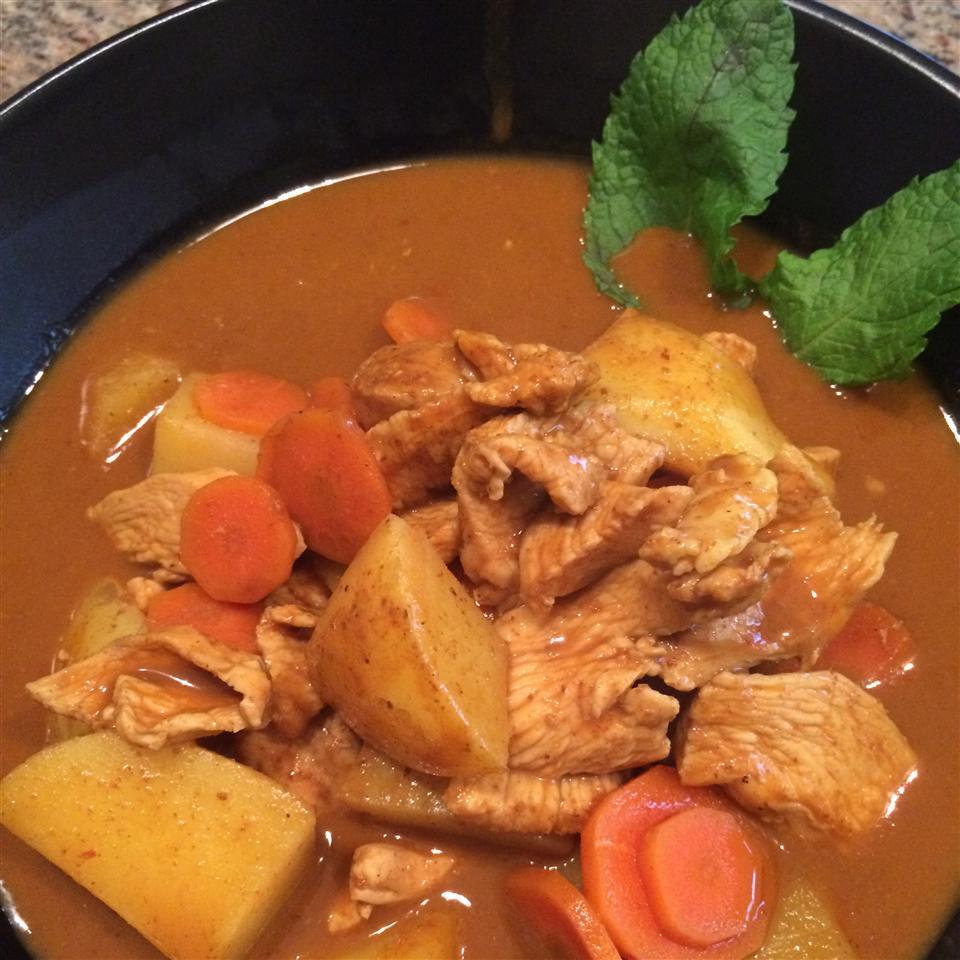 Thai Yellow Chicken Curry regancooks