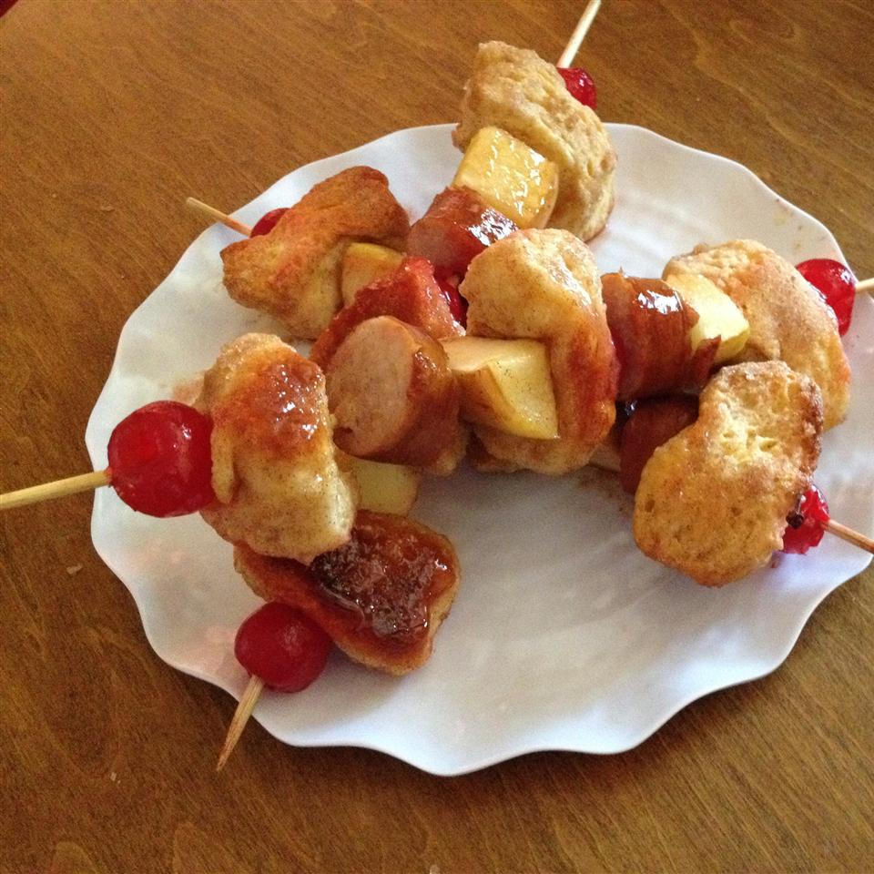Monkey Bread Kabobs SHORECOOK