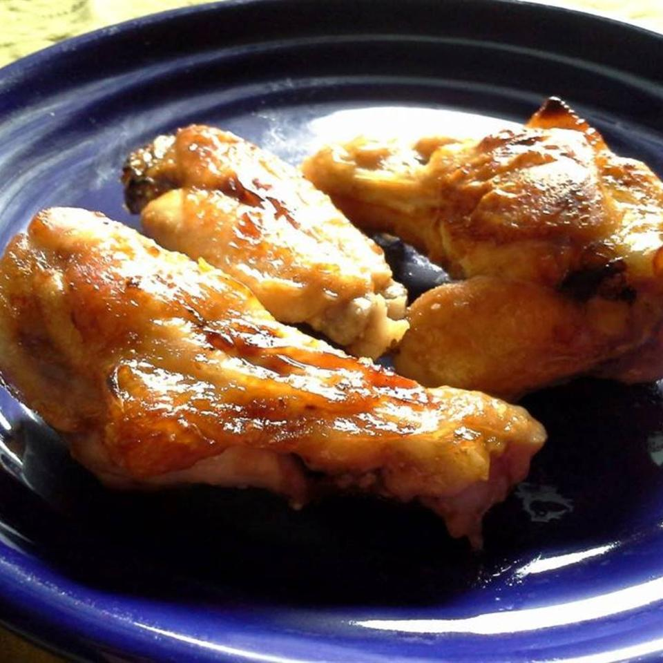 Baked Sticky Chicken Wings chantalnamibia