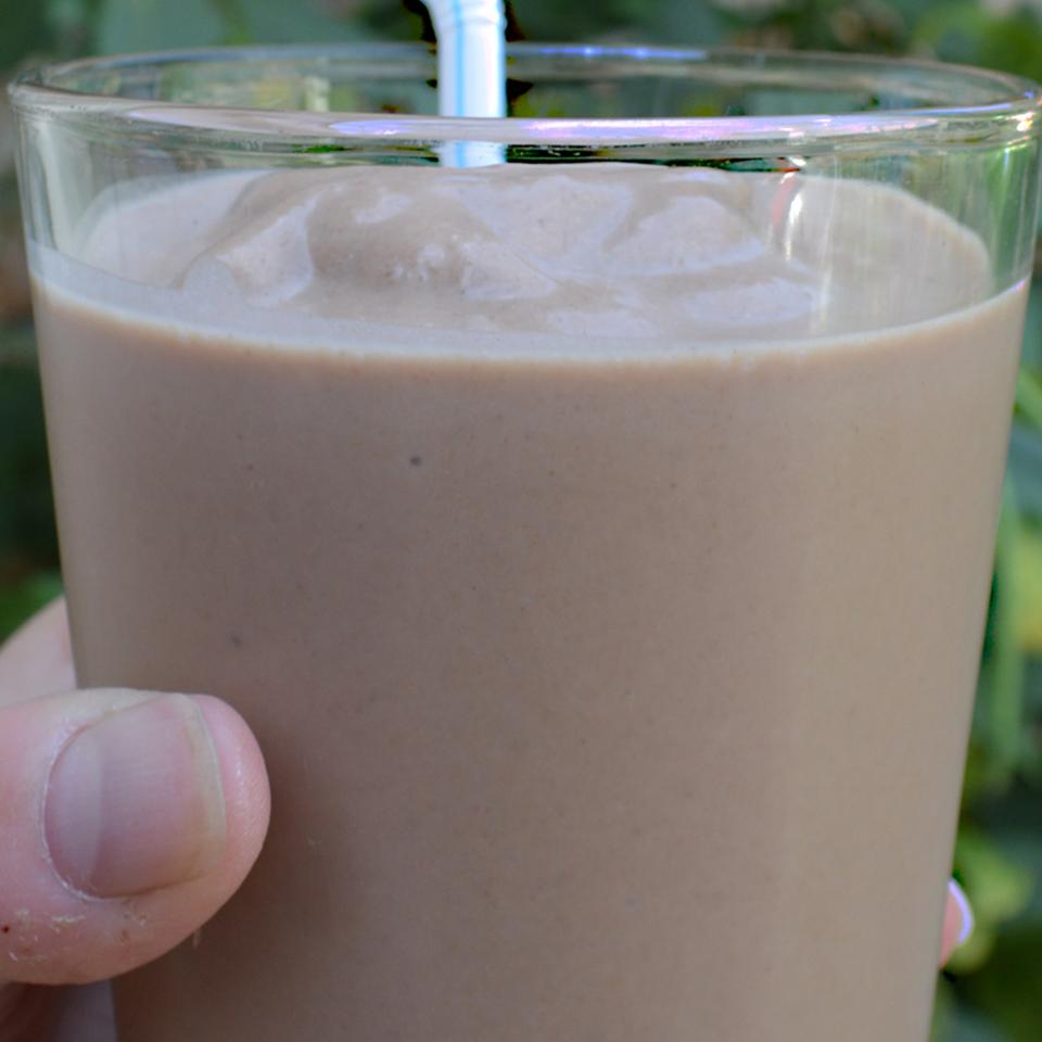 Low-Carb Chocolate Peanut Butter Smoothie Scotdog