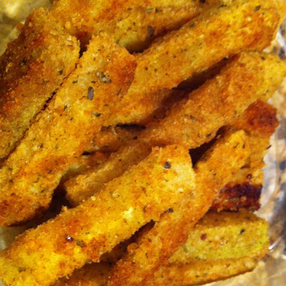 Oven Baked Zucchini Fries JillyBean