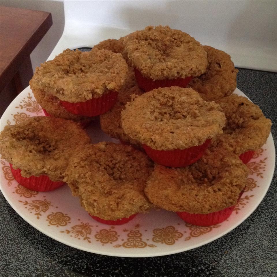 Peach Cobbler Muffins Recipe - Allrecipes.com