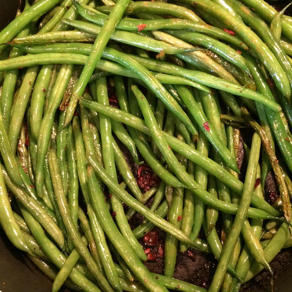 Citrus-Bacon Green Beans justine75