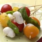 Tomato-Basil Skewers