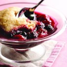 Sour Cherry-Fruit Slump
