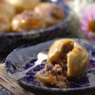 Baked Apples with Dried Fruits & Walnuts