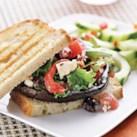 Mediterranean Portobello Burger
