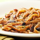 Lemon-Garlic Sardine Fettuccine