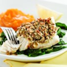 Healthy Recipes for Fish & Lemon Slideshow - Some ingredients naturally go perfectly together; fish and lemon are one of these combinations. Citrus brings out the mild flavor of fish and seafood with its subtle sourness. A squeeze of lemon can give you the right amount of tang in healthy fish recipes without masking other flavors. Try our Almond-&-Lemon Crusted Fish with Spinach or Salmon & Escarole Packets with Lemon-Tarragon Butter for a delicious fish dinner.