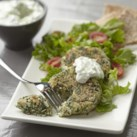 Feta & Spinach Couscous Patties