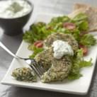 Feta & Spinach Couscous Patties