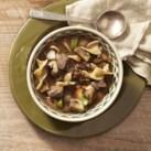 Mushroom-Beef Noodle Soup