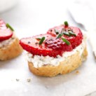Low-Calorie Recipes for Strawberries Slideshow - Celebrate the sweet taste of strawberries with our slimming strawberry recipes.