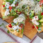 Healthy Salad-Topped Pizza Recipes Slideshow - Easy and healthy pizzas topped with the season's freshest salads.