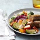 Roasted Autumn Vegetables & Chicken Sausage