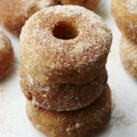 Apple-Cinnamon Mini Doughnuts