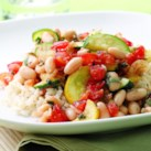 Summer Squash & White Bean Saute