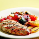 Grilled Chicken Ratatouille
