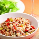 Low-Calorie Dinners with Whole Grains Slideshow - Add more whole grains to your diet with these delicious quinoa recipes, barley recipes, bulgur recipes and more whole-grain dinner recipes. Whole grains provide a healthy boost of vitamins, minerals, fiber, antioxidants and phytonutrients and are also rich in carbohydrates, the body's main fuel supply. Best of all, these recipes are packed with flavor but are still low in calories. Enjoy one of these low-calorie dinners with whole grains tonight!