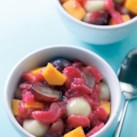Rhubarb Fruit Salad