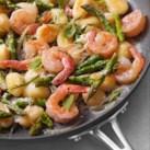 Skillet Gnocchi with Shrimp & Asparagus