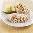 Salsa-Tofu Breakfast Burrito
