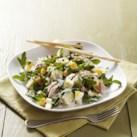 Smoked Trout, Potato & Arugula Salad