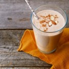 Almond Butter & Banana Protein Smoothie