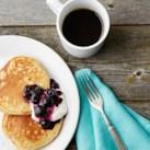 Oatmeal-Almond Protein Pancakes