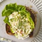 Open-Face Egg Salad Sandwich