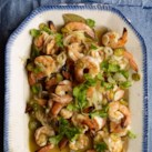 Garlic-Oregano Grilled Shrimp (Camarones Asada en Escabeche)
