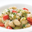 Gnocchi with Zucchini Ribbons & Parsley Brown Butter