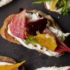 Beet & Goat Cheese Tartines