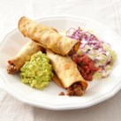 Oven-Fried Beef Taquitos