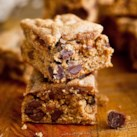 Almond Butter-Quinoa Blondies